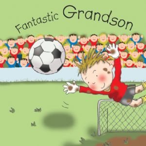 TW654 - Grandson Birthday Card Goalie